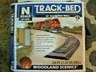 N Scale Track Bed by Woodland  Scenics  24 ft roll
