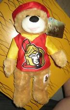 OTTAWA SENATORS NHL HOCKEY SOUVENIR PLUSH TOY BEAR BRAND NEW W/TAGS