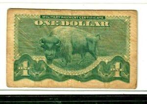 "$1  (BUFFALO) ""MILITARY PAYMENT CERTIFICATE"" SERIES 692 SUPER CRISPY!! BUFFALO !"