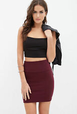 Cotton Stretch, Bodycon Unbranded Regular Skirts for Women