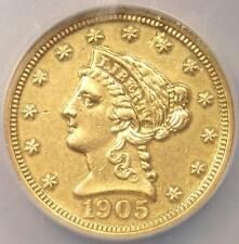 1905 Proof Liberty Gold Quarter Eagle $2.50 - Ngc Proof Au Details (Pf) - Rare!