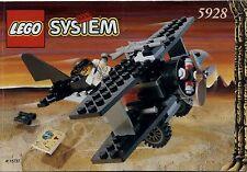 Lego Adventurers # 5928 Bi - Wing Baron - Bauanleitung (keine Steine!)