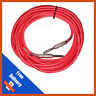 5m Pulse 6.35mm Low Noise Guitar Cable Lead RED