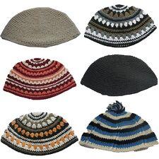 Freak Perfect Knitted Kippah Package Jewish Kippa Judaica Yamaka Kippot 6 Lot