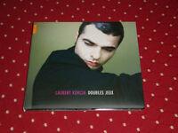 """CD DIGIPACK LAURENT KORCIA """"DOUBLES JEUX"""" 17 TITRES / NAÏVE 2006, TB ETAT"""