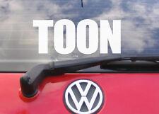 "8"" TOON Vinyl car window sticker/decal FC NCFC NEWCASTLE UNITED"