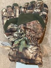 SEIRUS TRAIL CAMO INSULATED HUNTING GLOVES CHOOSE SIZE MOSSY OAK BREAKUP