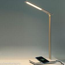 pliable œil protection del LAMPE BUREAU TABLE AVEC Qi sans fil chargeur de USB