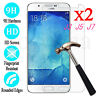 2x Tempered Glass Protective Screen Protector Film for Samsung Galaxy J 3 5 7