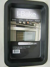 New I-Bake Medium Roast Roasting Bake Grill Pan Tray 5584