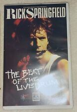 Rick Springfield-The Beat of a live drum-VHS-Rarità!!!