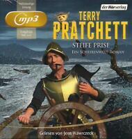 Terry Pratchett - Steife Prise 2 mp3-CD NEU Hörbuch CDs - TOP-RARITÄT! Wawrczeck