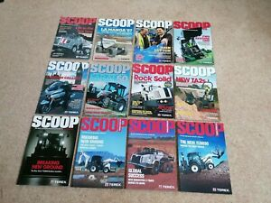 12 EDITIONS OF SCOOP – THE TEREX CONSTRUCTION MAGAZINE (2007 to 2013)