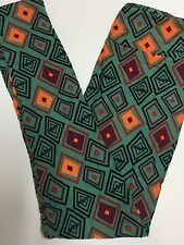 BATS VAMPIRE DIAMONDS GREEN HALLOWEEN  ~ LULAROE Leggings UNICORN OS SHIPS ASAP!