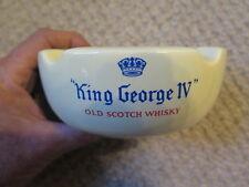 KING GEORGE IV OLD SCOTCH WHISKY ASHTRAY by WADE REGICOR ENGLAND SCARCE