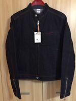 IRON HEART IHJ-52 Indigo 13oz Selvedge Denim Rider's Jacket MADE IN JAPAN L