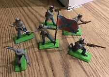 VINTAGE BRITAINS DEETAIL ACW Confederate SOLDIERS Set Of 6