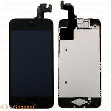 Display iPhone 5c assemblato completo Fotocamera Tasto Home Altoparlante Nero