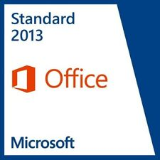 Microsoft Office 2013 Standard 1 PC 32&64 Bit Sofort per E-mail