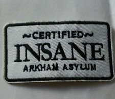 Arkham Asylum Embroidered Patch
