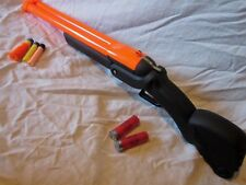 BUZZ BEE SHOTGUN NERF Painted GUN  Dead Barrel Halloween walking (a,b,c )