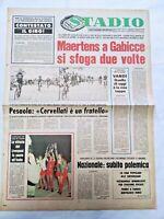 QUOTIDIANO STADIO 27-5-1977 LIVERPOOL VINCE COPPA DEI CAMPIONI GIRO D'ITALIA