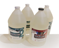 Crystal Clear Bar/Table Top Epoxy Resin Coating For Wood or Crafts -4 Gallon Kit