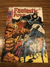 FANTASTIC FOUR  # 82   NOT CGC RATED  VF/NM   9.0   1ST SERIES SILVER  AGE 1969