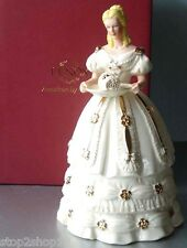 Lenox Christmas Sweet Delight Figurine 2011 Ivory Handpainted Limited $198 New