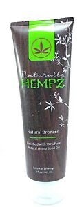 Naturally Hempz Natural Bronzer Indoor Tanning Lotion 9 oz