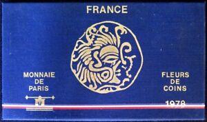 F5000.26 - COFFRET FLEURS DE COINS - FRANCS - 1978 - 1 centime à 50 francs
