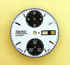 NEW SEIKO DIAL FOR SEIKO 6138 8020 & 6138-8021 PANDA CHRONOGRAPH WATCH NR-103