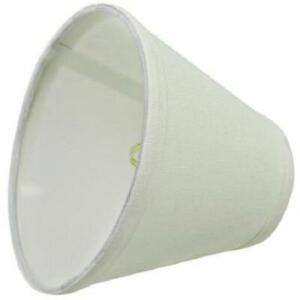 "Aspen Creative 32045 Empire~BEIGE~3"" x 6"" x 5"" Chandelier Clip-On Lamp Shade"