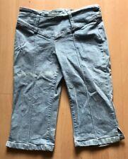 Capri Jeans Hose 3/4 Pimkie Gr 34 hellblau Stretch