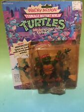 TMNT Wacky Action Raphael New In Box (Opening Spots On Package)