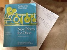 New Pieces for Oboe Book 1 - ABRSM - Complete and in Good Condition