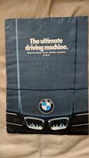 BMW 1978 all models car sales brochure catalog USA