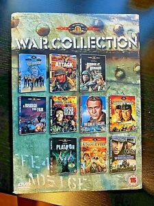 DVD War Movies: Platoon Great Escape Dogs of War Bridge Too Far Under Fire +