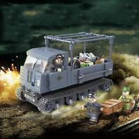 551pcs Militär Panzer Tank Modell Bausteine mit Armee Soldat Figuren Spielzeug