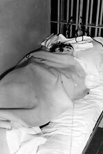 New 5x7 Photo: Papier-Mache Head Ruse in Cell from 1962 Alcatraz Prison Escape