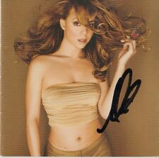 """Mariah Carey Autogramm signed CD Booklet """"Butterfly"""""""