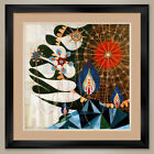"""35W""""x35H"""": PARMOTREMA by REX RAY - DOUBLE MATTE, GLASS and FRAME"""