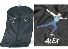 Personalizzato ricamato MASCHIO / Boy Pattinaggio sul ghiaccio Costume / abbigliamento Carrier Bag