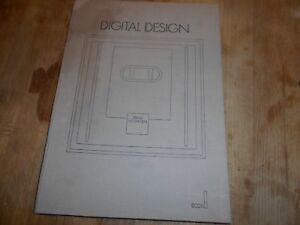 RARE BERND HOLTHUSEN DIGITAL DESIGN ED 1988 BE 35€ ACH IMM FP RED MOND RELAY