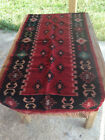 Balkan Kilim Red Colour 75 x 140cm from 1960's