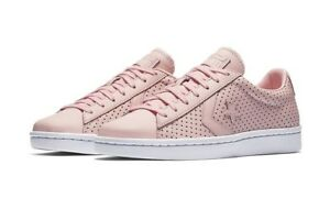 Converse Pro Leather Botanical Garden Pink Low Top Sneaker 155640C