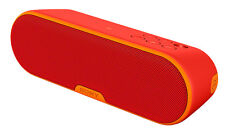 Sony Srs-xb2 Waterproof Portable Speaker With Extra Bass Red Orange Srsxb2