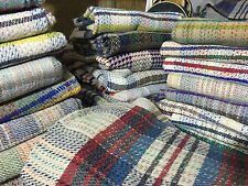 Large Wool Picnic Rug Travel Pet Blanket Outdoor Beach Camping Vintage Retro