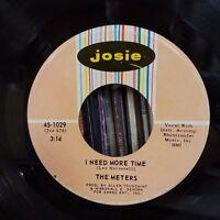 Meters | Funk Soul 45 | Doodle - Oop / I Need More Time | Josie 1029