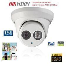 4MP IR Eyeball POE Dome HD IP cctv security Camera 4mm Hikvision w new